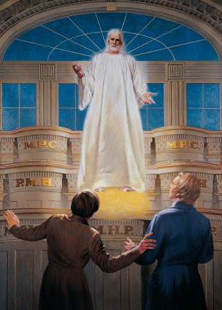Jesus Appears in the Kirtland Temple