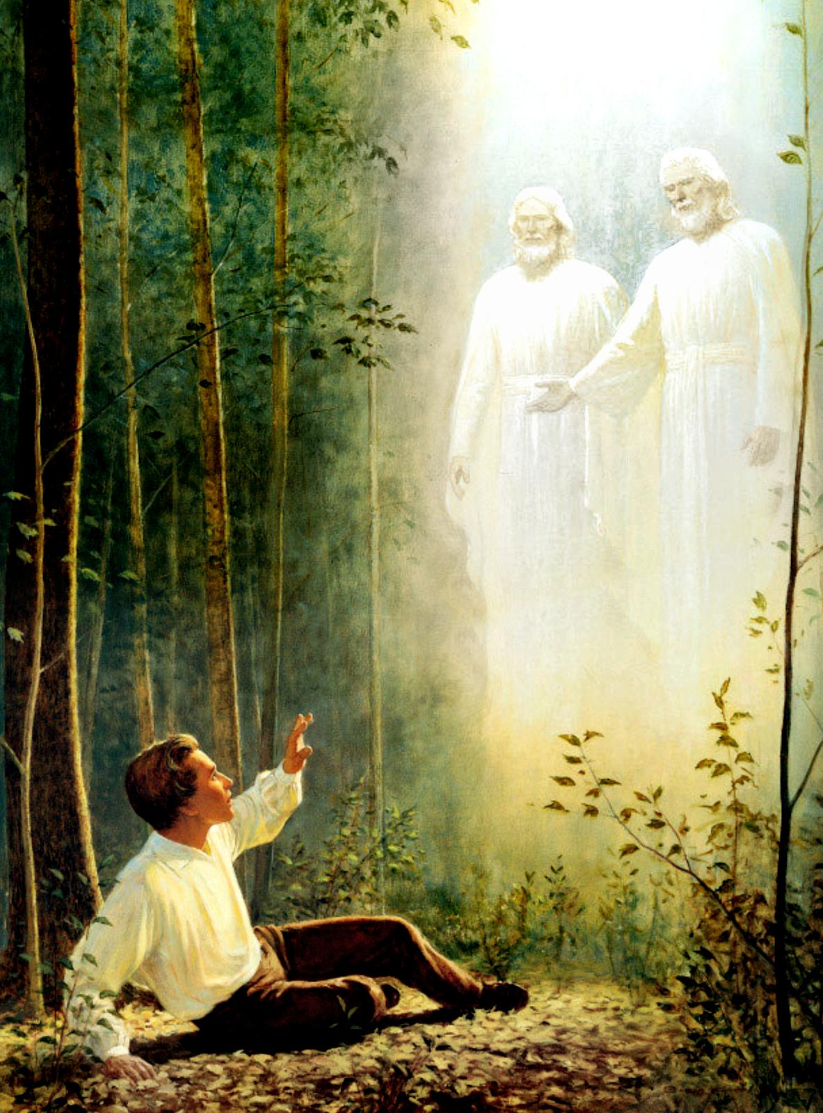 Image result for Joseph smith god vision
